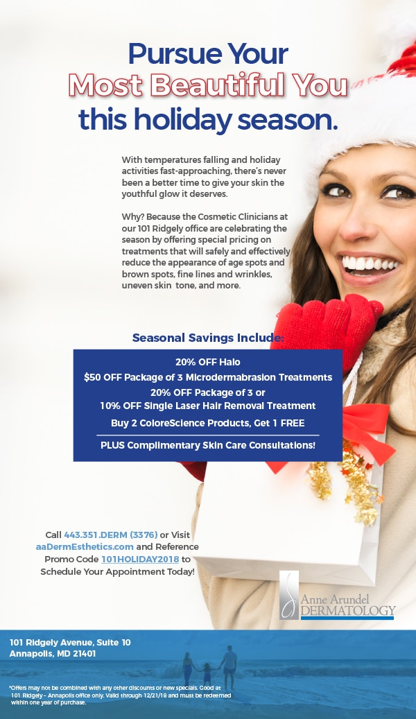 101 Ridgely - Annapolis Holiday Cosmetic Specials