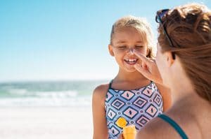 How to soothe a sunburn